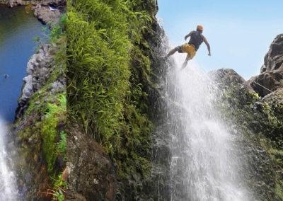 waterfall-rappel